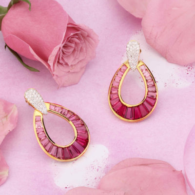 Pink Tourmaline Jaipur Jewels by Vaibhav Dhadda