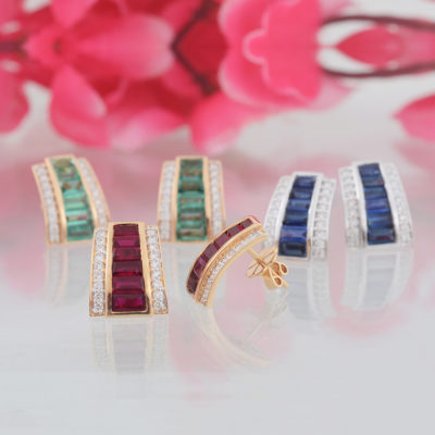 Ruby, Emerald & Sapphire Jaipur Jewels by Vaibhav Dhadda