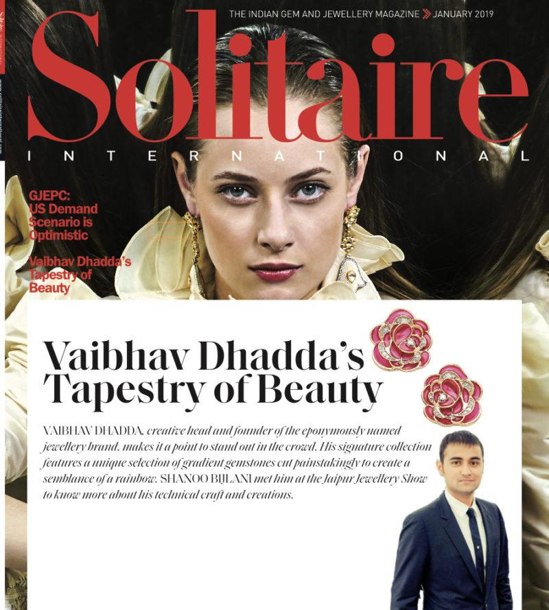 Solitaire Magazine thumbnail by Jaipur Jewels Vaibhav Dhadda