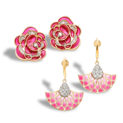 Plique a Jour Enamel Collection Jaipur Jewels by Vaibhav Dhadda