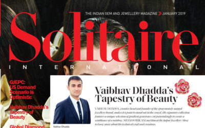 Solitare News Covergae Jaipur Jewesl by Vaibhav Dhadda